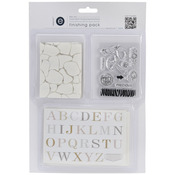 #2 Transparencies, Stamp & Alpha Stickrs - Empire Bebe Finishing Pack