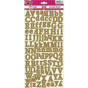 Alphabet - Heritage Cardstock Stickers