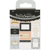 Bella! Wedding Project 3 x 4 Cards Die - Cuts - Ruby Rock - it
