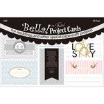 Bella! Wedding Project 4 x 6 Cards Die - Cuts - Ruby Rock - it