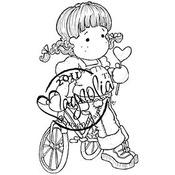 Lovelypop Tilda - Magnolia Sweet Crazy Love Cling Stamp