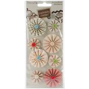 Flowers - Curiosity Corner Accordion Stickers