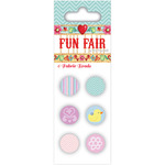 Helz Fun Fair Fabric Brads-