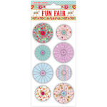 Helz Fun Fair Accordion Stickers - Flowers
