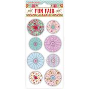 Helz Fun Fair Accordion Stickers - Flowers