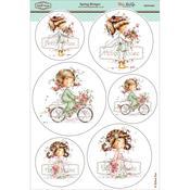 """Spring Bringer - Wee Stamps Topper Sheet 8.3""""X12.2"""""""