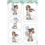 "Hopeful - Wee Stamps Topper Sheet 8.3""X12.2"""