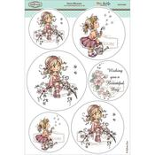"Sweet Blossom - Wee Stamps Topper Sheet 8.3""X12.2"""