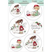 "Winter Fairy - Wee Stamps Topper Sheet 8.3""X12.2"""