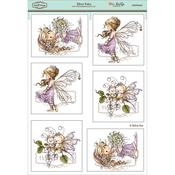 "Silver Fairy - Wee Stamps Topper Sheet 8.3""X12.2"""
