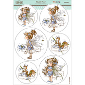 "Bluebell Wood - Wee Stamps Topper Sheet 8.3""X12.2"""