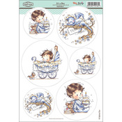 "It's A Boy - Wee Stamps Topper Sheet 8.3""X12.2"""