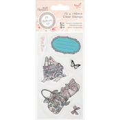 Shoes & Bags - Papermania Bellisima Mini Clear Stamps 75x140mm