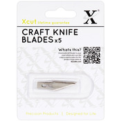 For XC255100 - Xcut Craft Knife #1 Refill Blades 5/Pkg