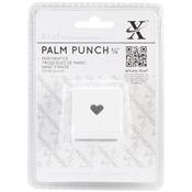 "Traditional Heart, .375"" - Xcut Small Palm Punch"