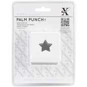 """Traditional Star, 1"""" - Xcut Large Palm Punch"""