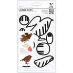 Xcut Decorative Dies Large - Christmas In The Country Robin