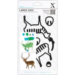 Xcut Decorative Dies Large - Christmas In The Country Stag
