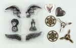 Angel Wings Stamp - N - Add Set - Ingvild Bolme - Prima
