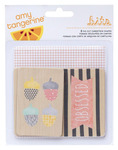 Stitched Die Cut Chipboard Shapes - Amy Tangerine