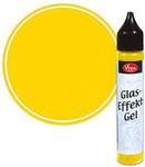 Yellow Opaque Glass Effect Gel Pen - Viva Decor