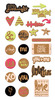 Love Notes Printed Cork Stickers - We R Memory Keepers