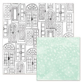 French Doors Paper - Love Notes - We R Memory Keepers