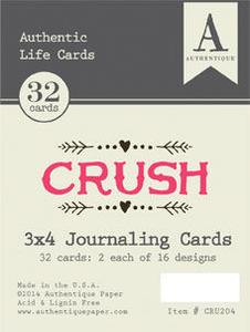 "Crush - 3""x4"" Life Cards"