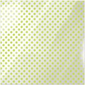 Neon Green Dot Acetate Paper - Clearly Bold - We R Memory Keepers