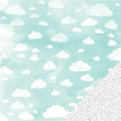 High Profile Cloud Paper - Stitched - Amy Tangerine