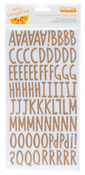 Everyday Kraft Chipboard Thickers - Stitched - Amy Tangerine
