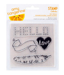 Day Dream Acrylic Stamps - Stitched - Amy Tangerine