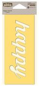 Happy Mix The Media Word 6 Inch Stencil - Jillibean Soup