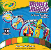 Crayola Model Magic .5oz 14/Pkg