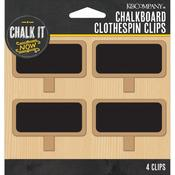 Chalkboard Clothespin Clips - Chalk It Now - K & Company