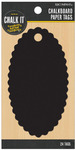 Chalk It Now Oval Paper Tags - K & Company
