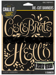 Hello & Celebrate Die Cut Banners - K & Company