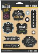 Chalk It Now Tags & Brads - K & Company