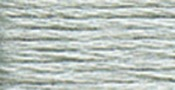 Very Light Pewter- Lighter Than 169 - DMC Six Strand Embroidery Cotton 8.7 Yards