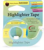 Fluorescent Blue Highlighter Tape