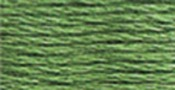 Pistachio Green Medium - DMC Six Strand Embroidery Cotton 100 Gram Cone