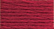Christmas Red Dark - DMC Six Strand Embroidery Cotton 100 Gram Cone