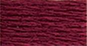 Garnet Dark - DMC Six Strand Embroidery Cotton 100 Gram Cone