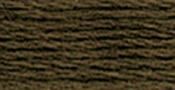 Mocha Brown Very Dark - DMC Six Strand Embroidery Cotton 100 Gram Cone