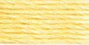 Golden Yellow Very Light - DMC Six Strand Embroidery Cotton Floss 100 Gram Cone-