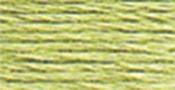 Yellow Green Light - DMC Six Strand Embroidery Cotton 100 Gram Cone