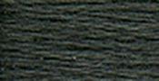 Pewter Grey Very Dark - DMC Six Strand Embroidery Cotton 100 Gram Cone