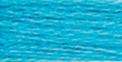 Turquoise Medium Bright - DMC Six Strand Embroidery Cotton 100 Gram Cone