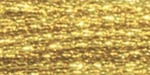 Gold - DMC Metallic Embroidery Floss 100 Gram Cone