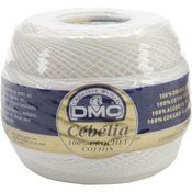 White - Cebelia Crochet Cotton Size 20 - 405 Yards